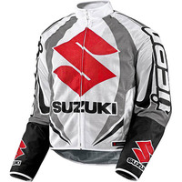 Icon Hooligan Suzuki Jacket :: MotorcycleGear.com