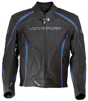 Agvsport_jacket_leather_dragon_blue