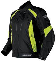 Avenger_textilejacket_blackfloyellow