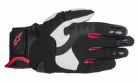 Gp_air_leather_glove_black_white_red_palm