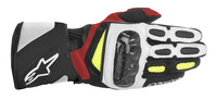 Sp2_leather_glove_black_white_red_yellowfluo_6
