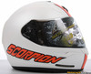 Scorpion EXO-R410 Split Helmet White/Orange Color