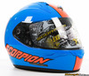 Scorpion EXO-R410 Split Helmet - Blue/Orange
