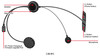 Sena 3S-B Bluetooth Headset with Wired Microphone Single Kit