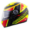 Scorpion EXO-500 Corsica Helmet Red/Neon Color