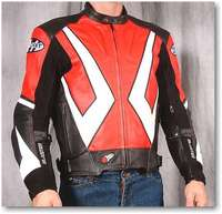 Joe Rocket Blaster 2.0 Leather Motorcycle Jacket :: MotorcycleGear.com