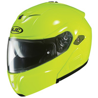 Hjc-sy-max-iii-solid-hi-viz-yellow-side