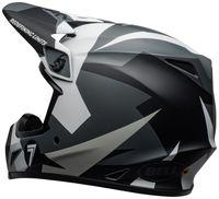 Bell-mx-9-mips-dirt-helmet-seven-battleship-matte-black-grey-back-left