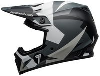 Bell-mx-9-mips-dirt-helmet-seven-battleship-matte-black-grey-left