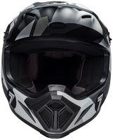 Bell-mx-9-mips-dirt-helmet-seven-battleship-matte-black-grey-front