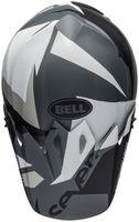 Bell-mx-9-mips-dirt-helmet-seven-battleship-matte-black-grey-top