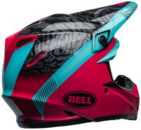 Bell-moto-9-mips-dirt-helmet-chief-matte-gloss-black-pink-blue-back-right