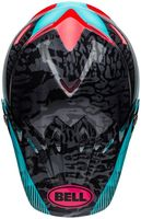 Bell-moto-9-mips-dirt-helmet-chief-matte-gloss-black-pink-blue-top