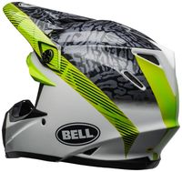 Bell-moto-9-mips-dirt-helmet-chief-matte-gloss-black-white-green-back-left