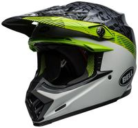 Bell-moto-9-mips-dirt-helmet-chief-matte-gloss-black-white-green-front-left