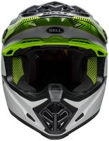 Bell-moto-9-mips-dirt-helmet-chief-matte-gloss-black-white-green-front