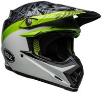 Bell-moto-9-mips-dirt-helmet-chief-matte-gloss-black-white-green-front-right