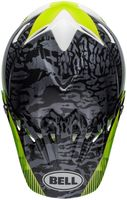 Bell-moto-9-mips-dirt-helmet-chief-matte-gloss-black-white-green-top