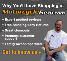 You'll Love Shopping at MotorcycleGear.com!