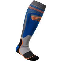Mx-plus-1-sock-blue-orange