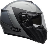 Bell-srt-modular-street-helmet-presence-matte-gloss-black-gray-clear-shield-right