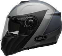 Bell-srt-modular-street-helmet-presence-matte-gloss-black-gray-clear-shield-left