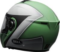 Bell-srt-modular-street-helmet-presence-matte-gloss-green-white-black-clear-shield-back-left