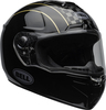 Bell-srt-street-helmet-buster-gloss-black-yellow-gray-clear-shield-front-right