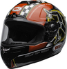 Bell-srt-street-helmet-isle-of-man-2020-gloss-black-red-clear-shield-front-left
