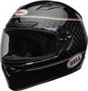 Bell-qualifier-dlx-mips-street-helmet-breadwinner-gloss-black-white-clear-shield-front-left