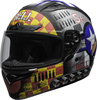 Bell-qualifier-dlx-mips-street-helmet-devil-may-care-2020-matte-gray-clear-shield-front-left