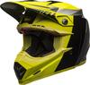 Bell-moto-9-flex-dirt-helmet-division-matte-gloss-black-hi-viz-gray-front-left