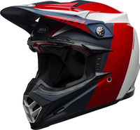 Bell-moto-9-flex-dirt-helmet-division-matte-gloss-white-blue-red-front-left