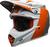 Bell-moto-9-flex-dirt-helmet-division-matte-gloss-white-orange-sand-front-left