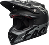 Bell-moto-9-flex-dirt-helmet-fasthouse-wrwf-matte-gloss-black-white-gray-front-left