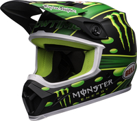 Bell-mx-9-mips-dirt-helmet-mcgrath-showtime-replica-matte-black-green-front-left