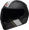 Bell-qualifier-dlx-mips-street-helmet-vitesse-matte-gloss-black-white-front-left