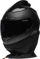 Bell-qualifier-dlx-forced-air-side-by-side-helmet-matte-black-front-left
