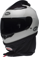 Bell-qualifier-forced-air-side-by-side-helmet-gloss-white-front-left