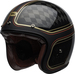 Bell-custom-500-carbon-culture-helmet-rsd-checkmate-matte-gloss-black-gold-front-left