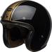 Bell-custom-500-culture-helmet-rally-gloss-black-bronze-front-left