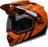 Bell-mx-9-adventure-snow-mips-dual-shield-helmet-dash-gloss-black-flo-orange-front-left
