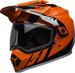 Bell-mx-9-adventure-snow-mips-dual-shield-helmet-dash-gloss-black-flo-orange-front-left