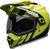 Bell-mx-9-adventure-snow-mips-dual-shield-helmet-dash-gloss-black-flo-yellow-front-left