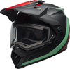 Bell-mx-9-adventure-snow-electric-shield-helmet-switchback-matte-black-blue-red-front-left