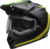Bell-mx-9-adventure-snow-electric-shield-helmet-switchback-matte-black-flo-green-front-left