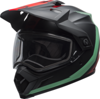 Bell-mx-9-adventure-snow-dual-shield-helmet-switchback-matte-black-blue-red-front-left