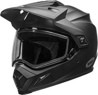 Bell-mx-9-adventure-snow-dual-shield-helmet-matte-black-front-left
