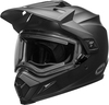 Bell-mx-9-adventure-snow-electric-shield-helmet-matte-black-front-left