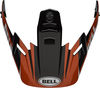 Bell-mx-9-adventure-visor-spare-part-dash-gloss-black-red-white-top